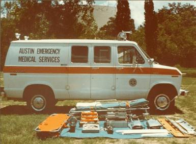 Austin EMS ambulance