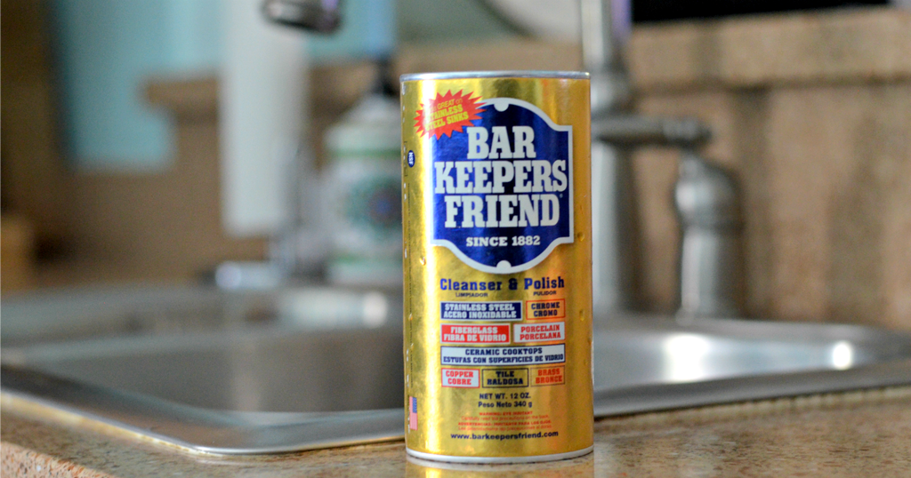 bar keepers friend cleaning product