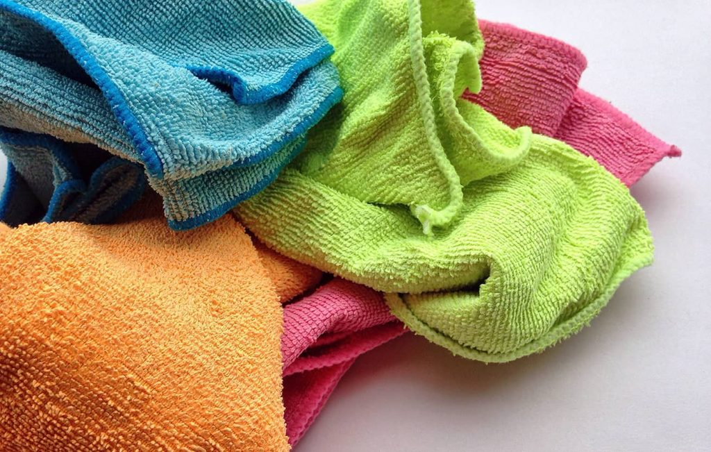 microfiber cleaning cloths supplies